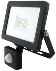 PRO ELEC PEL01283  Led Pir Floodlight, 20W, 2M Cable
